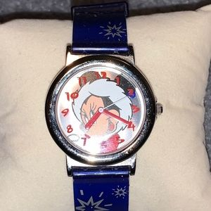 Rare Minnie Mouse Christmas Watch
